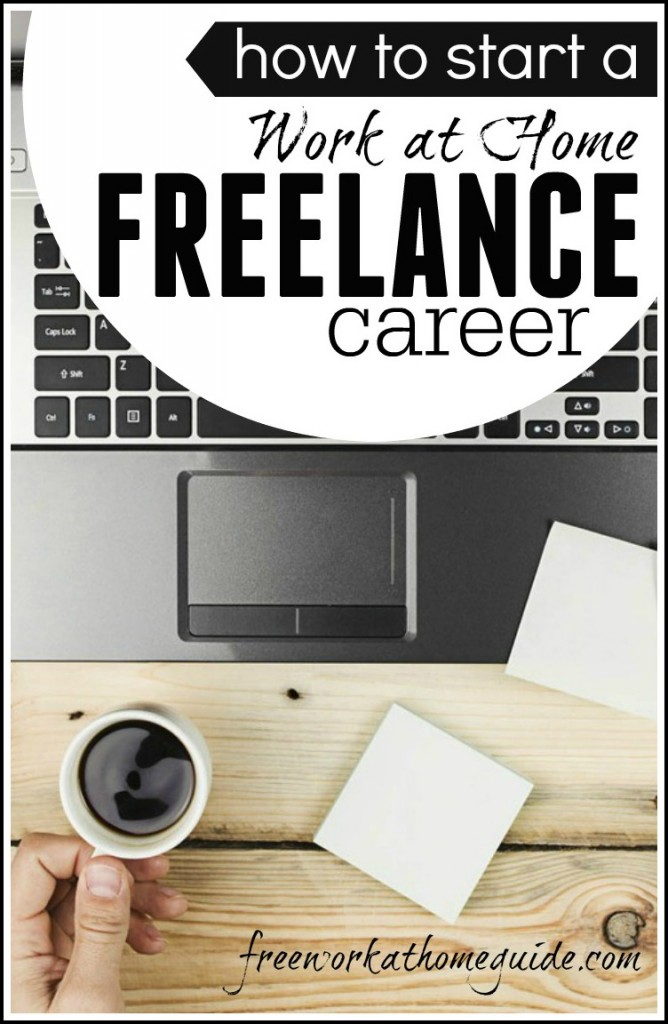 If you are looking to work from home then freelancing or contract work is a great place to start. This can be a career or it can be a place to start if you are looking to start a business online.