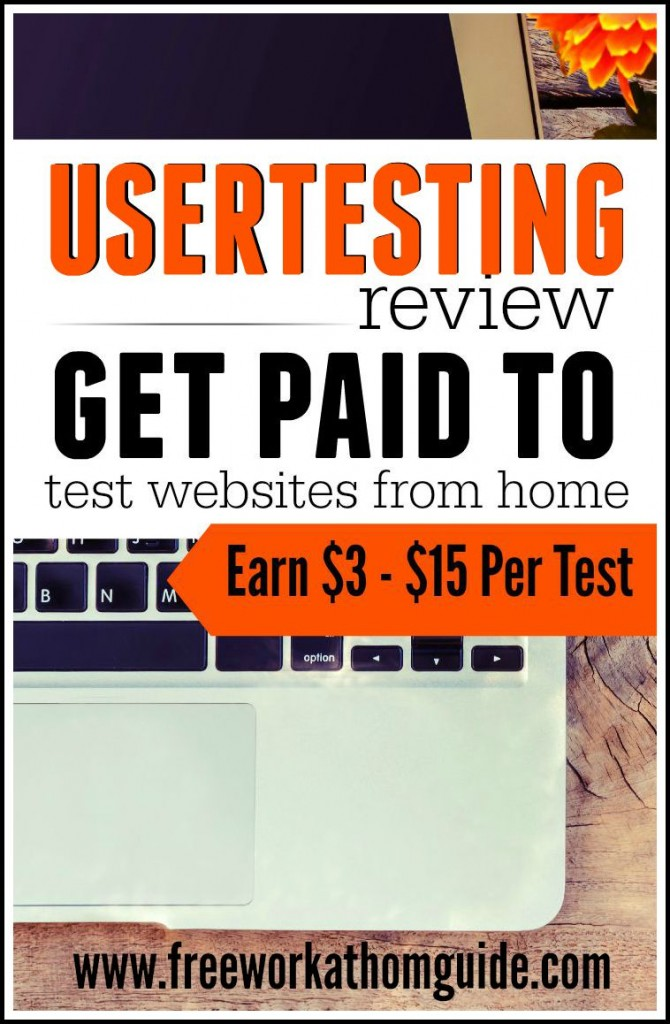 UserTesting is a well-known usability testing company that pay testers anywhere from $3 - $15 to complete tasks on websites and apps while speaking their thoughts out loud.