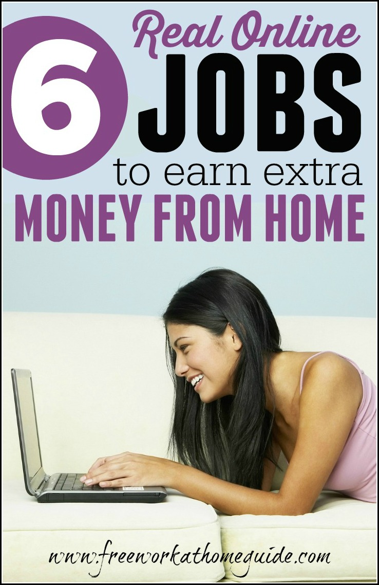 legitimate work from home online jobs 6 real online jobs to earn extra money at home best work 4106