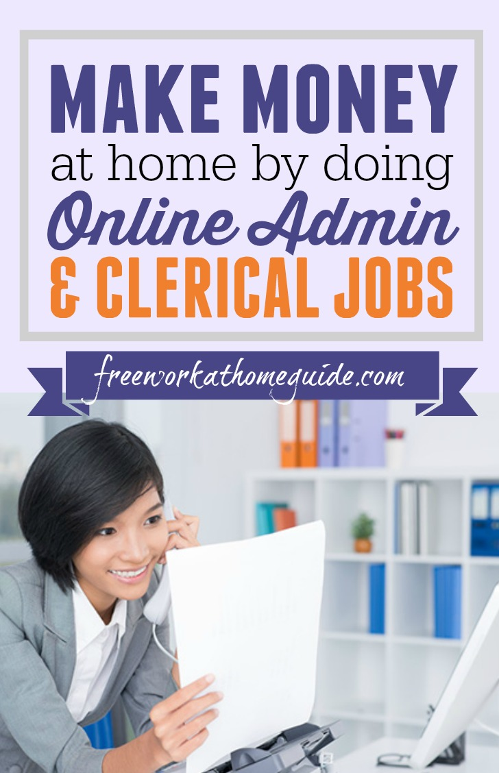 Make Money At Home By Doing Online Administrative Assistant Jobs