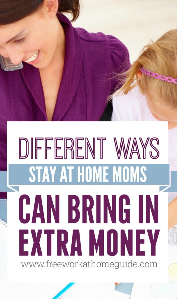 Online jobs is the best option for moms to make money and still spend time with their kids. Here's some popular ways that moms have made money online and that you can try out.