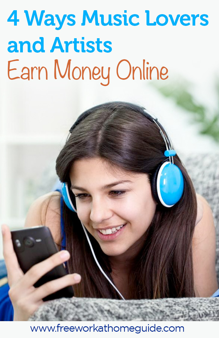 make money with music online 4 ways music lovers and artists earn money online 7277