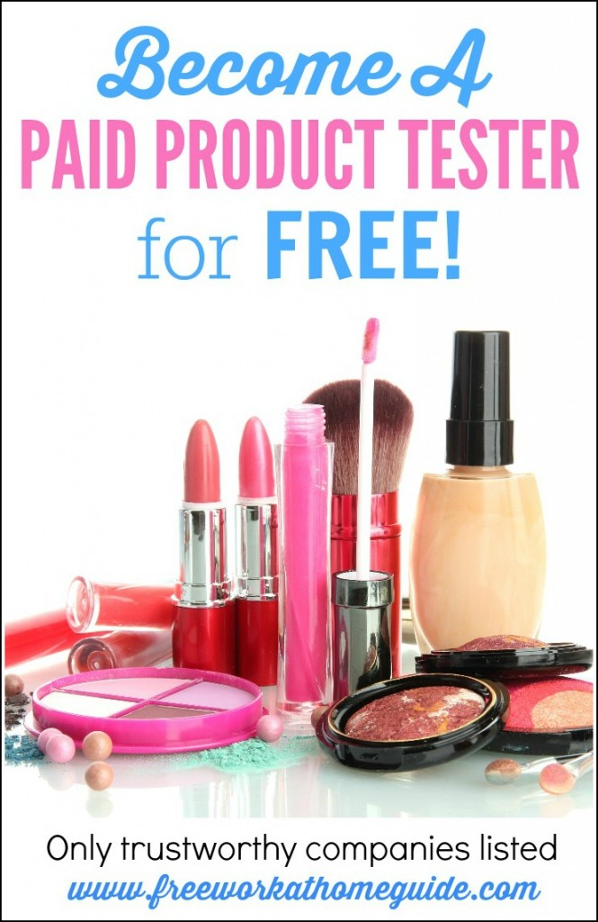 Product Testing: If you enjoy testing new products before others for good pay, then this is the right work at home opportunity!