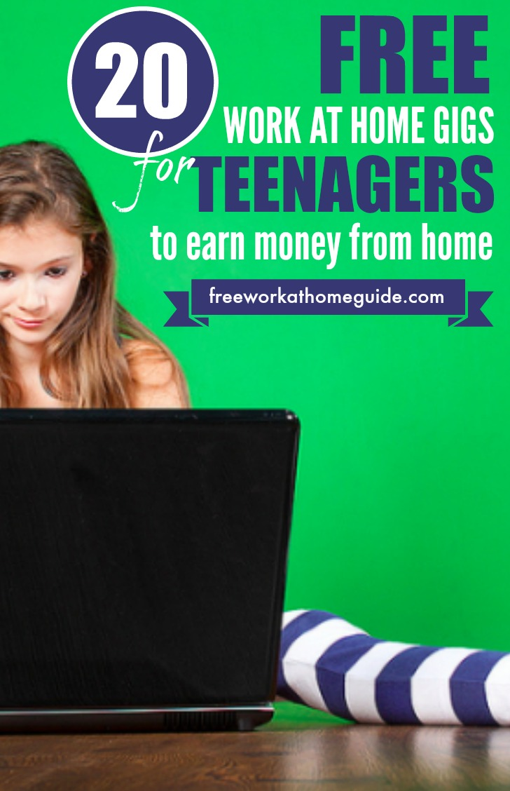 20 work at home gigs for teens to earn money online there are 20 ways teens can earn money doing easy online tasks from home
