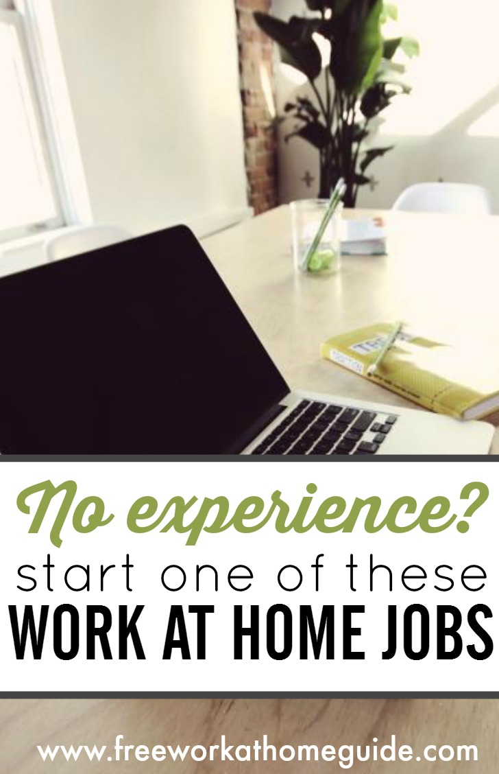 No Experience? Apply Today for These Online Jobs at Home!
