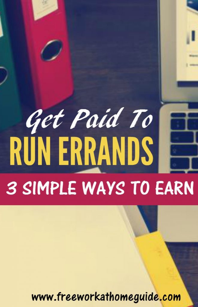 If you are looking for ways to make some money on the side, you can run various types of errands for others in your area and actually get paid to complete them.