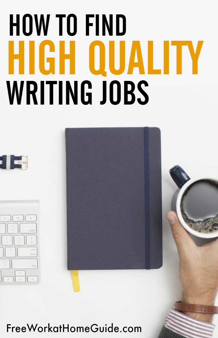 how to high quality writing jobs on about com