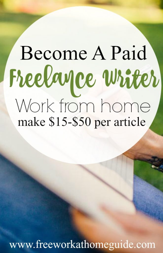 Pay for freelance writers