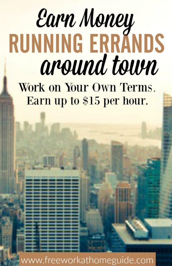 Are you outgoing, friendly and a strong communicator? Then you can earn money on the side as a Runner with Favor. Pays up to $15 per hour.