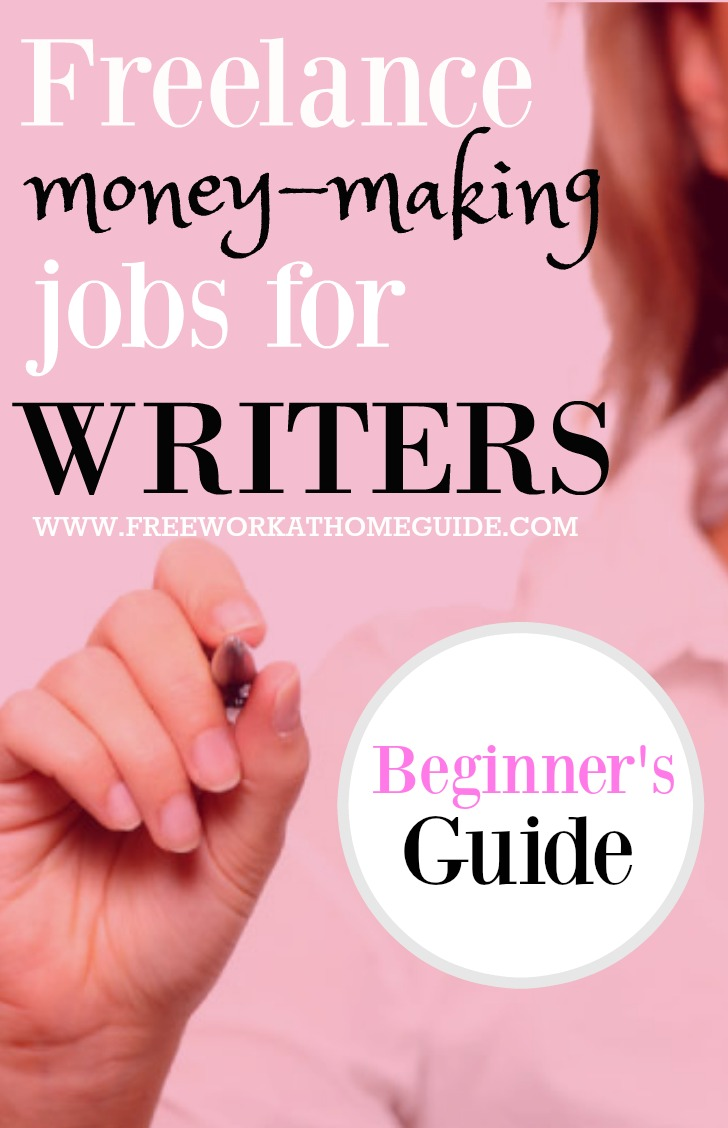 Online writing jobs are a great way for people with writing skills to make money online. This guide as a writer describes how you can get started as a beginner.