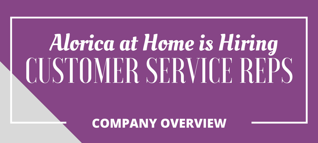 Work from Home Taking Phone Calls at Alorica at Home
