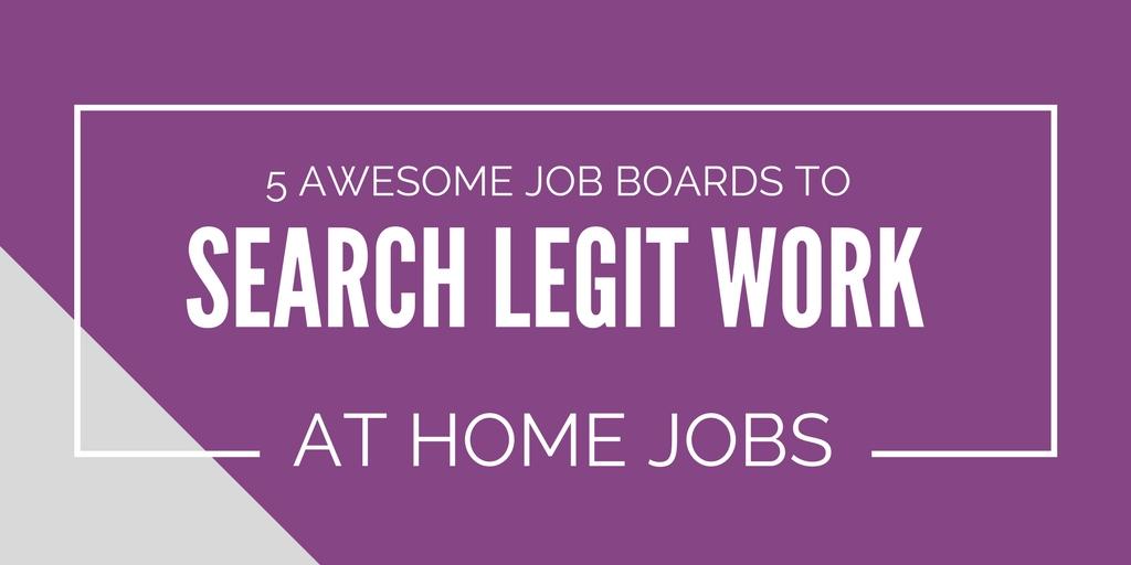 Legit Online Typing Jobs At Home