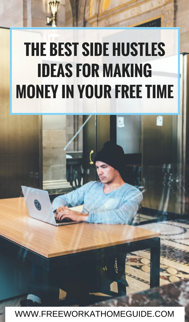 Whether you are a student, an employee or a mom, you can still make extra cash in your free time. Check out these legit side hustles you can start today!