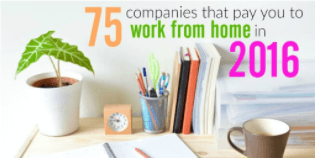 75 Companies That You To Work from Home in 2016