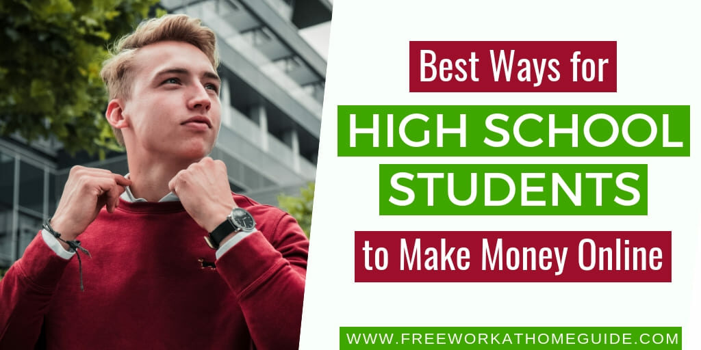 best 5 perfect online jobs for high school students to
