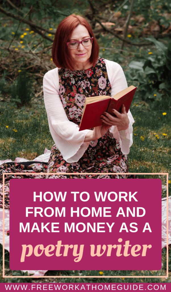 How to Work from Home and Make Money as a Poetry Writer