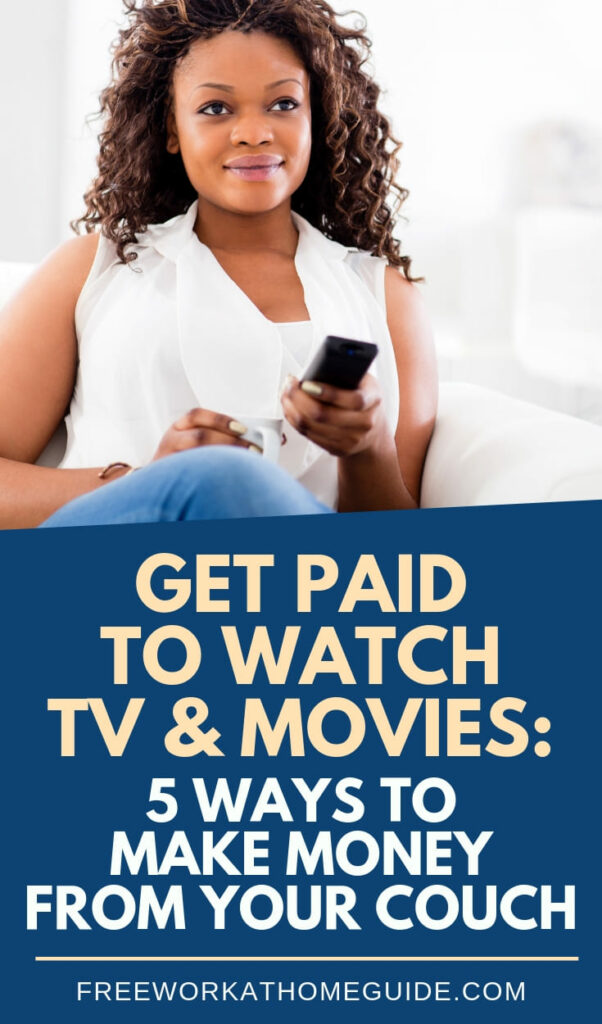 Do you enjoy watching TV? Then, why not make money doing what you love to do! You can actually get paid to watch TV and movies with these 5 free platforms.