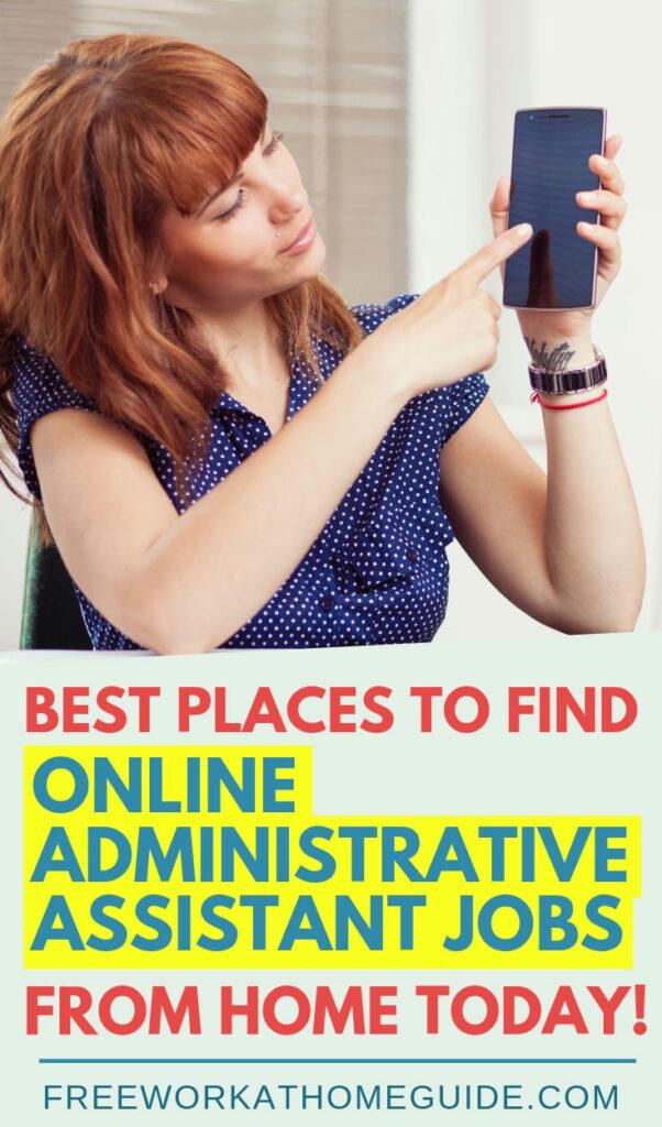 Wondrous Best Places To Find Online Administrative Assistant Jobs Download Free Architecture Designs Ponolprimenicaraguapropertycom